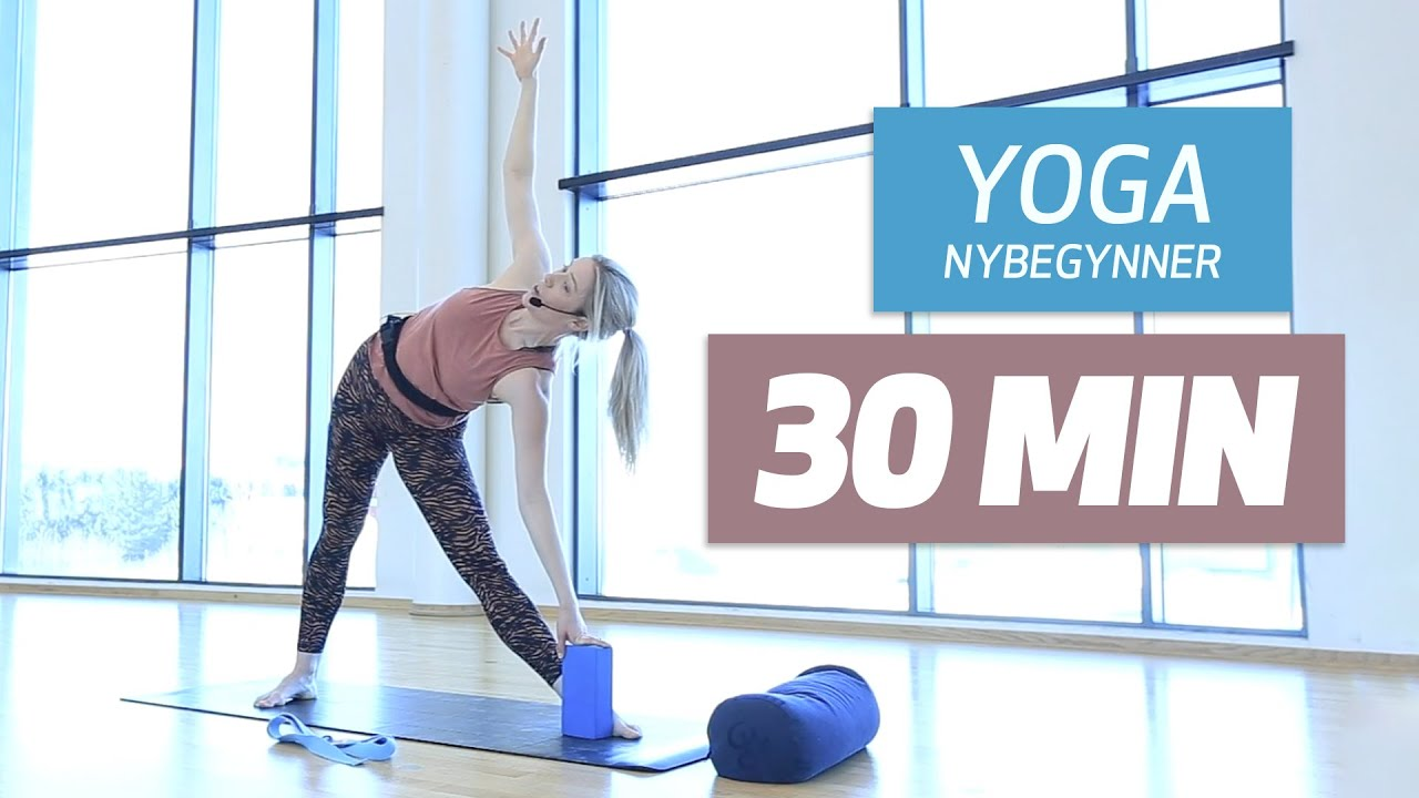 Yoga for nybegynner 30 min