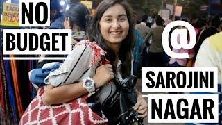 NO BUDGET CHALLENGE AT SAROJINI NAGAR | UPAASANA LAMBA