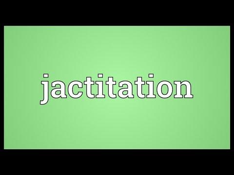 Header of jactitation