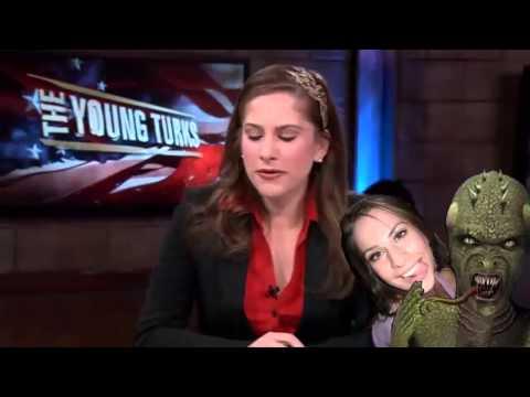 Ana Kasparian Shapeshifting Reptilian