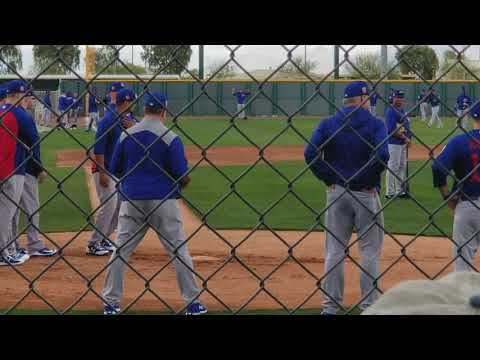 Cubs Spring Training 2018 - Practice 2/19/2018