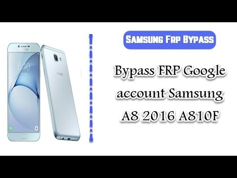 How To Bypass Samsung Sm A520F