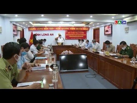 UBND tỉnh tổ chức hội nghị sơ kết thực hiện Chỉ thị số 16 của Thủ tướng Chính phủ | LONG AN TV
