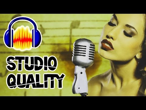 "Make ANY Microphone Sound STUDIO QUALITY!!! - ""How to make your Mic Sound Better""(Audacity Tutorial)"