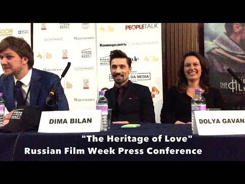 "Dima Bilan ""The Heritage of Love"" - Russian Film Week 