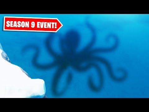 SEASON 9 KRAKEN EVENT CONFIRMED! ALL SEASON 9 LIVE EVENT LEAKS, DETAILS & INFO! (POLAR PEAK EVENT)