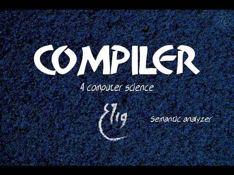 Compiler Design lecture: Semantic Analysis, various Phases of compiler | 15из YouTube · Длительность: 6 мин55 с