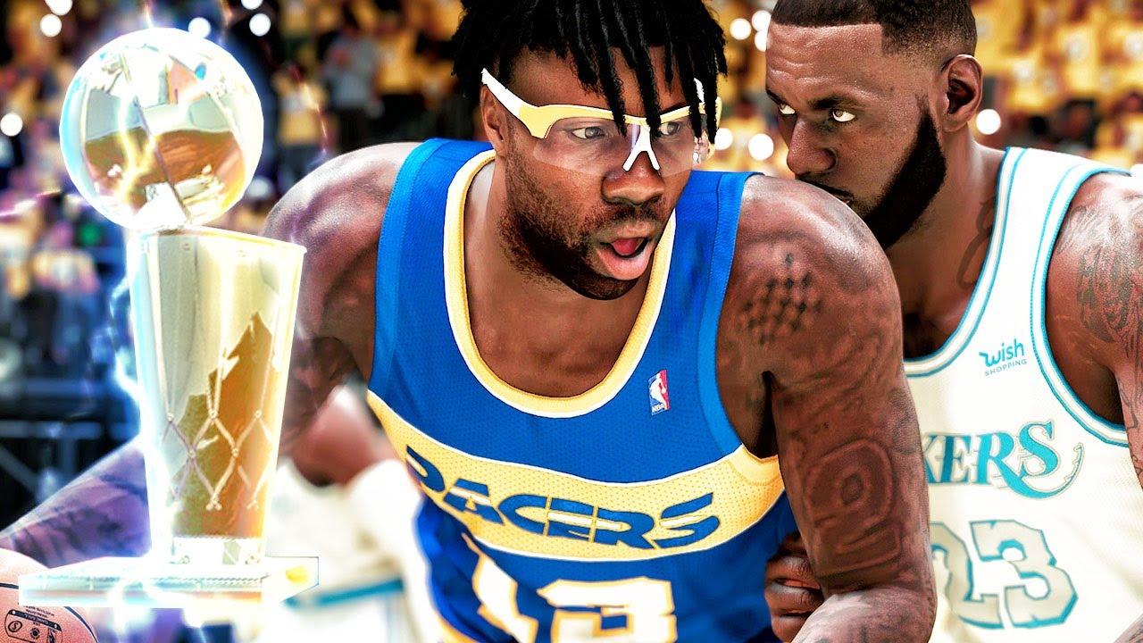 NBA FINALS QUADRUPLE-DOUBLE vs LEBRON! NBA 2k21 My Career Next Gen Gameplay