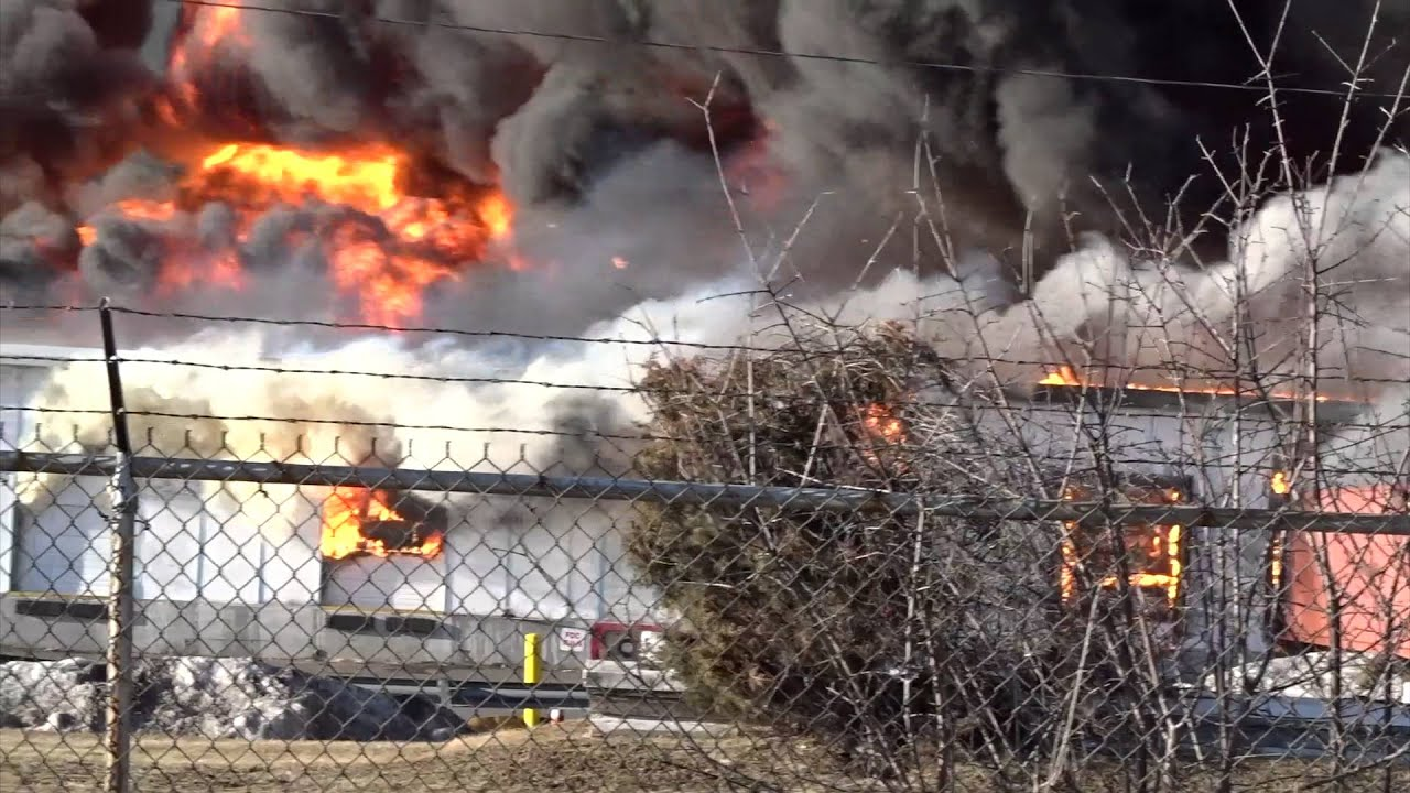 Cleanup of massive Bound Brook fire begins