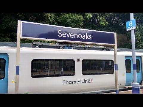 Full Journey on Thameslink (Class 700) from West Hampstead Thameslink to Sevenoaks (via Catford)