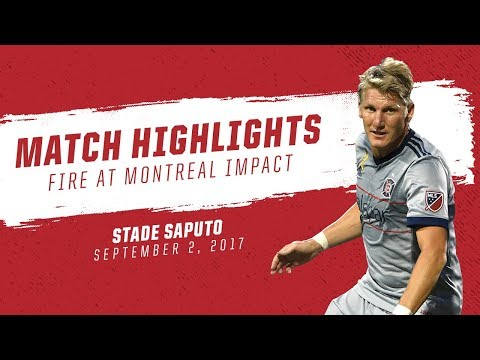 Match Highlights | Chicago Fire at Montreal Impact (Sept. 2, 2017)