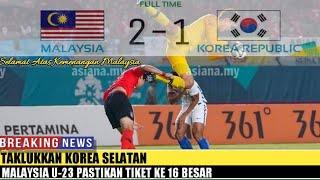 Download Video Taklukkan Korea Selatan, Malaysia U-23 Pastikan Tiket ke 16 Besar MP3 3GP MP4