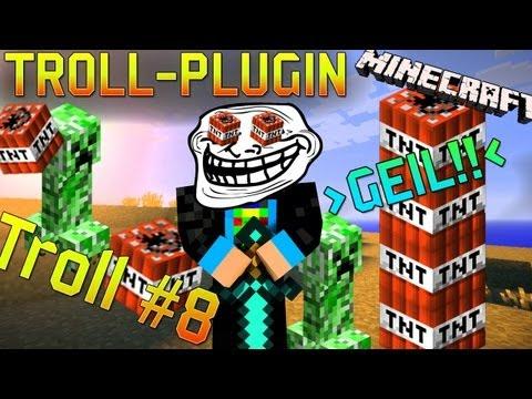 plugin troll для майнкрафт #6