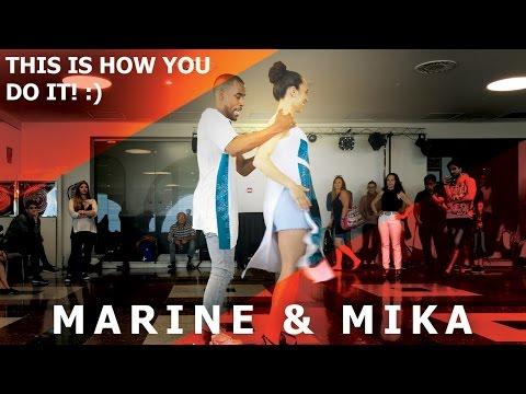 FUN! Marine & Mika Urban Kiz Dance  @ Barcelona Temptation Festival 2017