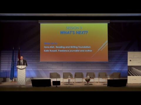 """Session 3 of the """"Building a Europe of Readers"""" conference: What's next?"""