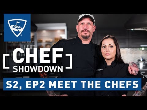 Chef Showdown | Season 2: Episode 2 Meet the Chefs | Topgolf