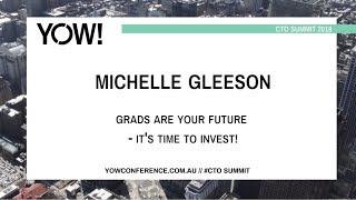 YOW! 2018 CTO Summit Melbourne - Michelle Gleeson thumbnail