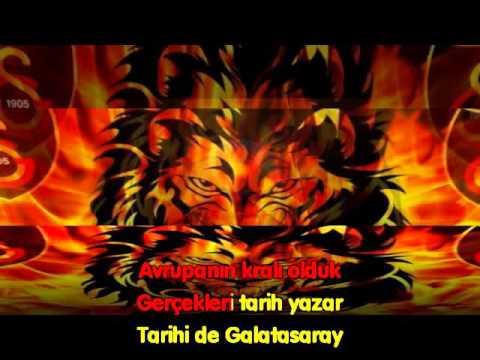 Galatasaray Marşı Karaokesi - Dört sene üstüste HD Karaoke