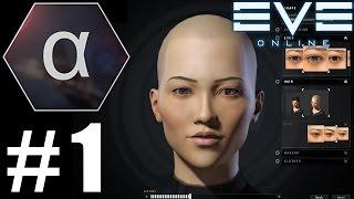 EVE: Играем бесплатно #1 - Создаём персонажа
