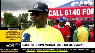 Annual race commemorates apartheid military regime victims