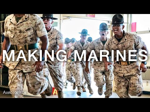 Making Marines – 12 Weeks of United States Marine Corps Recr