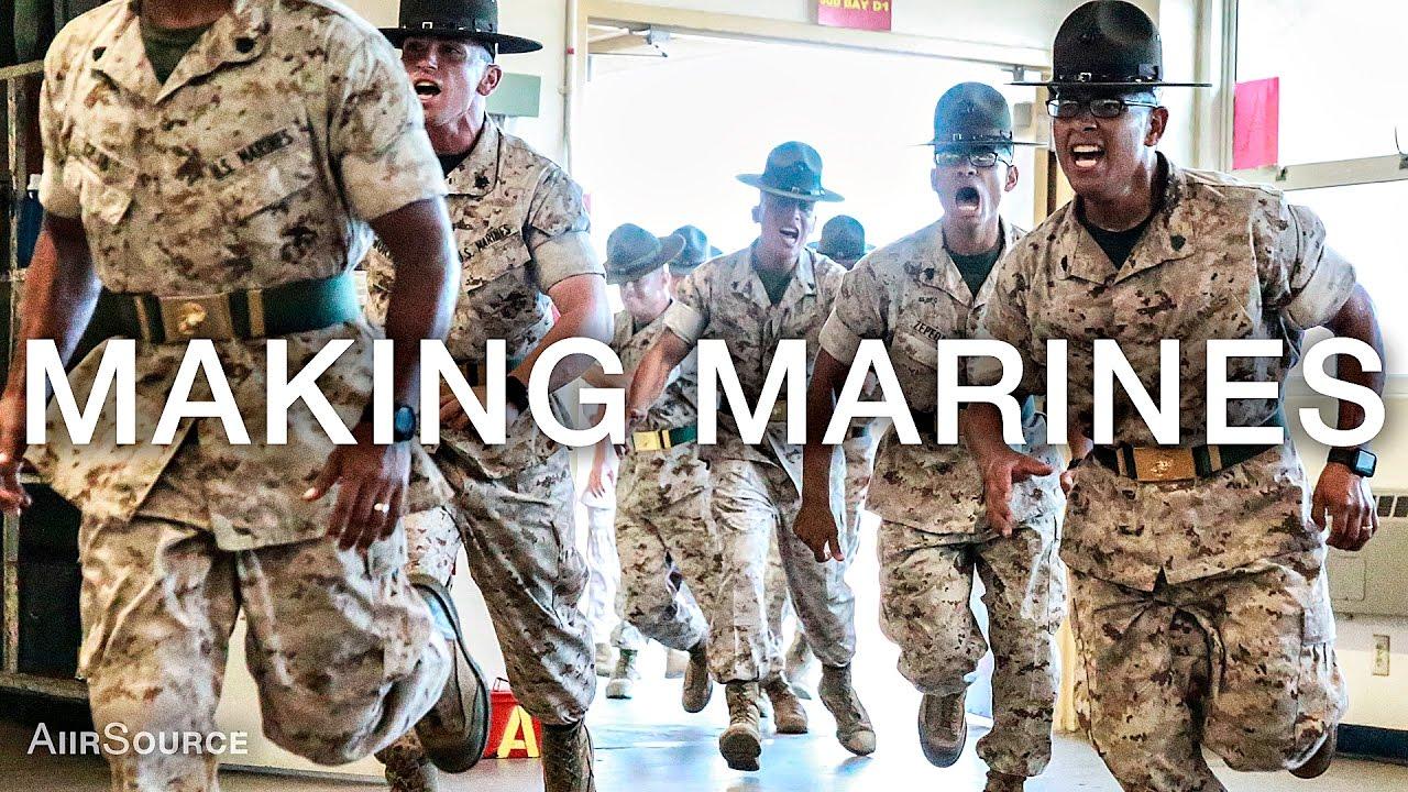 making marines 12 weeks of united states marine corps recruit