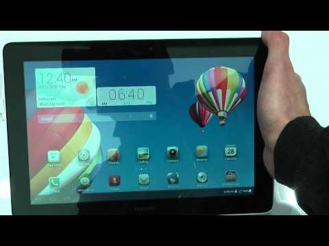 Huawei MediaPad 10 Link+ im Hands-On | MWC 2014 - Deutsch (HD)