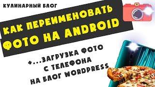 как переименовать файлы на Android. Пакетное переименование