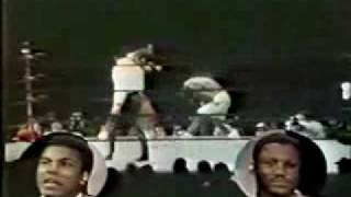 Muhammad Ali and Joe Frazier Wide World Of Sports Studio Brawl 1974