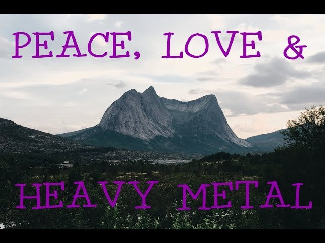 Destiny Ocean - Peace, Love & Heavy Metal (Official Music Video)