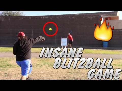 INSANE BLITZBALL GAME! Wiffle Ball Game #2