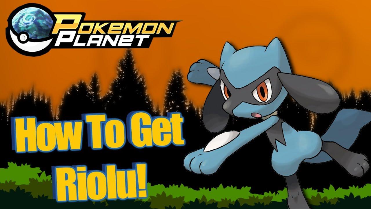 How To Get Riolu!