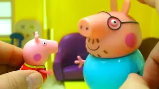 Мультфильм игрушками Свинка Пеппа Свинка Pig Скоро Новый Год Сборник