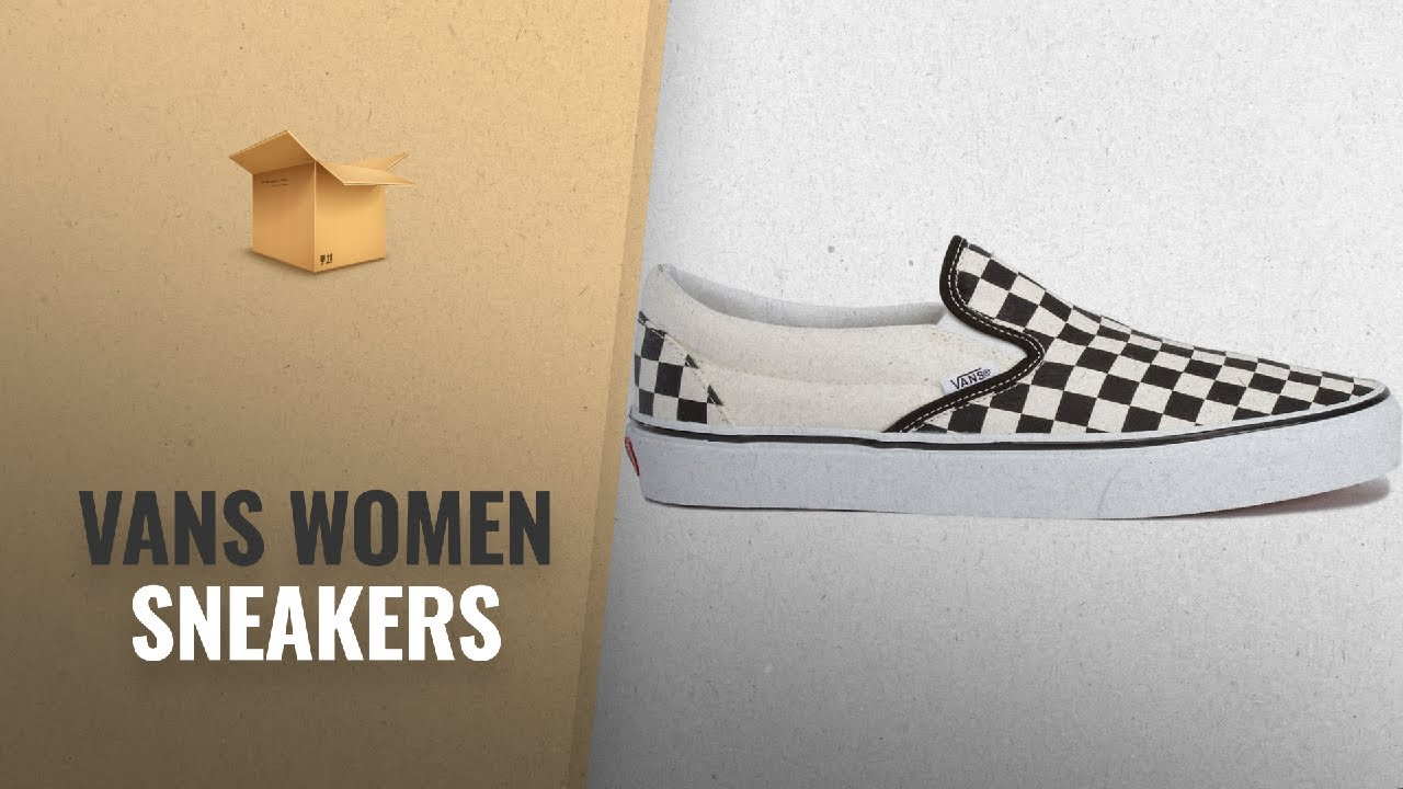 0253c51a39 Top 10 Vans Women Sneakers  2018 Best Sellers   Vans Slip On Black ...