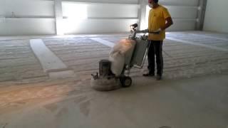 Подготовка к покраске бетонного пола