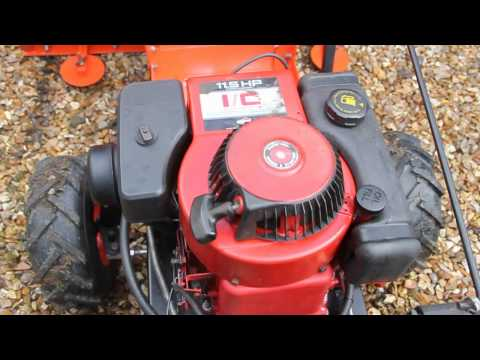 11.5HP Briggs and Stratton 1992 Flat Head I/C Engine Sound