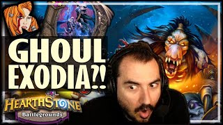 GHOUL EXODIA BUILD?! - Hearthstone Battlegrounds