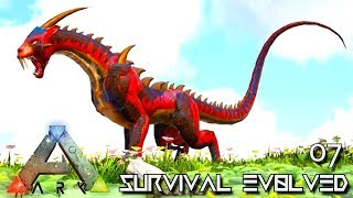 ARK: SURVIVAL EVOLVED - DRAGON TIGER DRIGER & CRYSTAL GRIFFIN E07 !!! ( PRIMAL FEAR PYRIA )