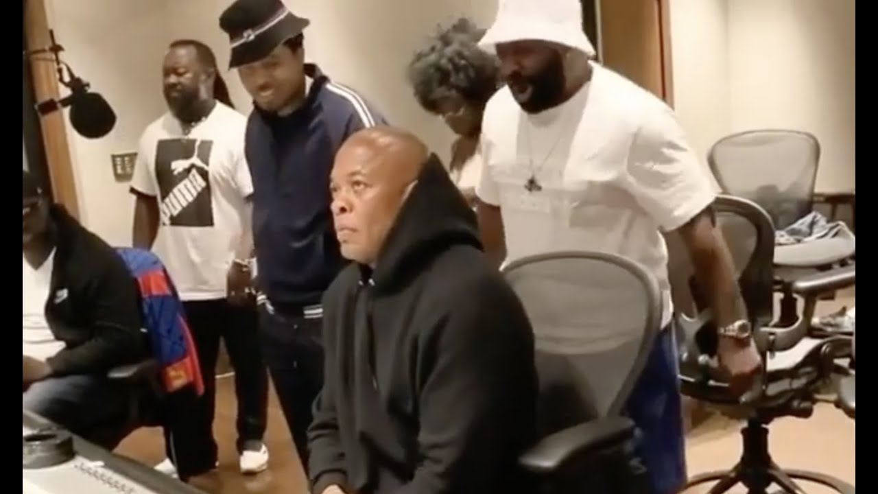 Dr Dre Is Out The ICU, Home And Working
