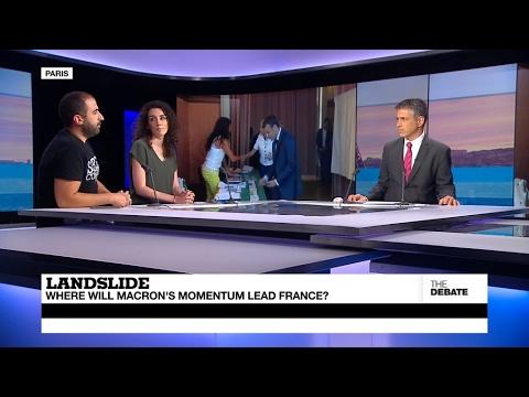 Landslide: Where will Macron