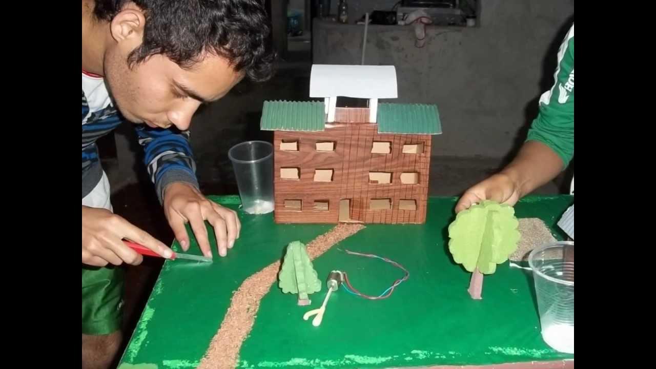 Maqueta sistemas de tratamiento de aguas residuales ufpso - Como hacer una maqueta de una casa ...
