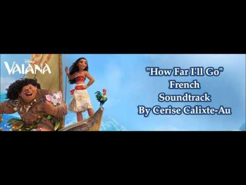 Moana/Vaiana - How Far I'll Go (French) POP Version
