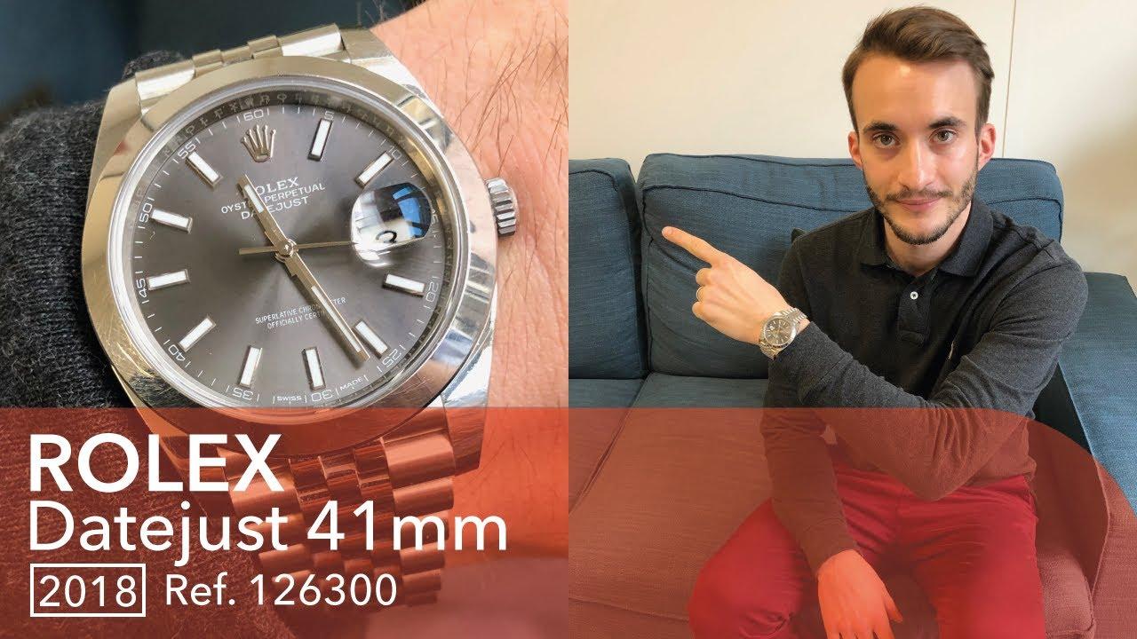Download 🔵 Rolex Datejust (S1E40) - L'avis de Maxime avec la Rolex la plus reconnaissable des Rolex !