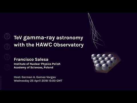 [W62] Francisco Salesa: TeV gamma-ray astronomy with the HAWC Observatory
