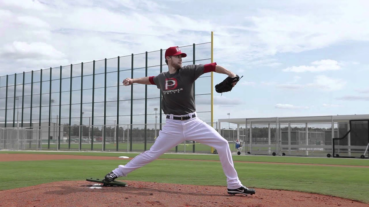 Pitching Mechanics - increasing velocity using your legs and hips - YouTube