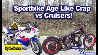 Sportbike Motorcycles Age Like Shit Compared to Cruisers | MotoVlog