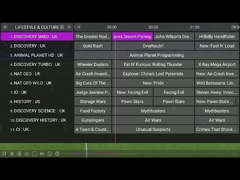 New EPG instructional video for dutch iptv channels with perfect player app