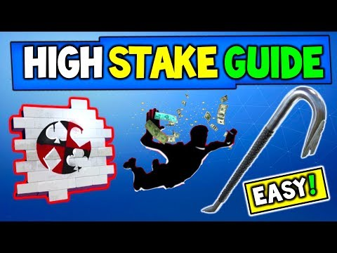 Fortnite: HIGH STAKES CHALLENGES GUIDE!