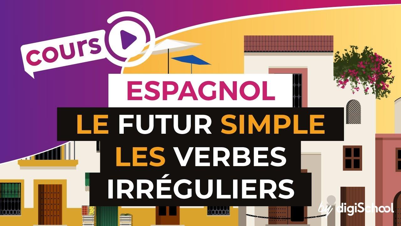 Le Futur Simple Les Verbes Irreguliers Espagnol Youtube
