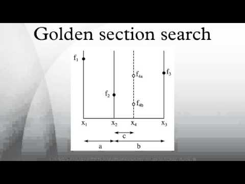 Golden section search